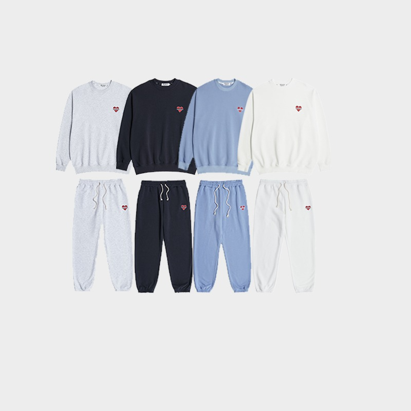 NOMANTIC JOGGING SET UP (4COLOR)